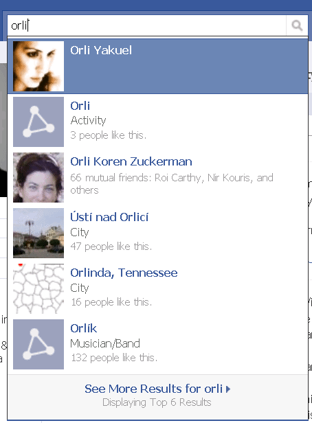 orli-in-facebook-search