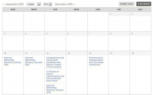Israel Business and Hitech Events Calendar