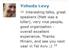 WordCamp Jerusalem Feedback
