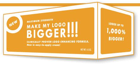 Make My Logo Bigger Cream