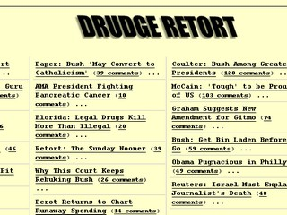 The Drudge Retort