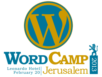 Join us at WordCamp Jerusalem 2013: the official WordPress conference in Israel!