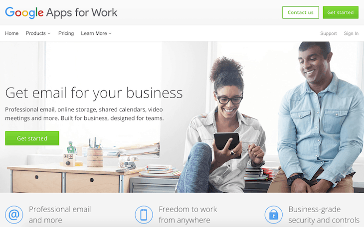 Google Apps for Work – Email, Collaboration Tools And More 2016-02-10 15-59-12