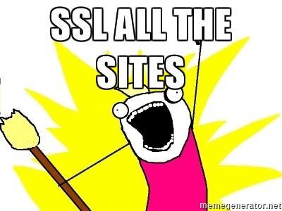 SSL ALL THE SITES